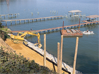Low Country Construction - Marine Construction is one of our Associated Services