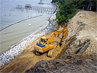 Barlow Erosion Protection Project in Yorktown, Virginia